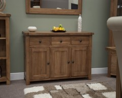 Chicago Oak Large Sideboard