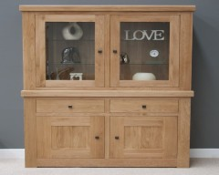 Marseille Small Sideboard Top in Solid Oak