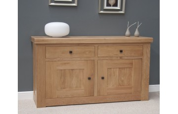 Marseille Small Sideboard in Solid Oak