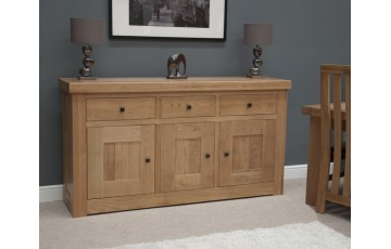 Marseille Medium Sideboard in Solid Oak