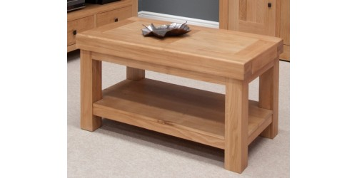 Marseille Coffee Table in Solid Oak