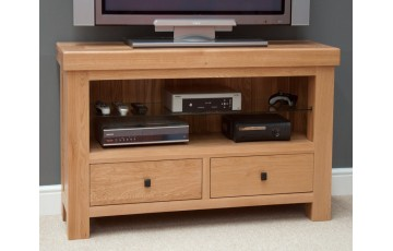 Marseille TV Unit in Solid Oak
