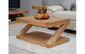New York Solid Oak Coffee Table