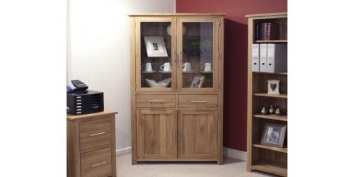 Sherwood Deluxe Library Unit in Oak