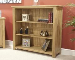 Sherwood Deluxe Small Bookcase in Oak