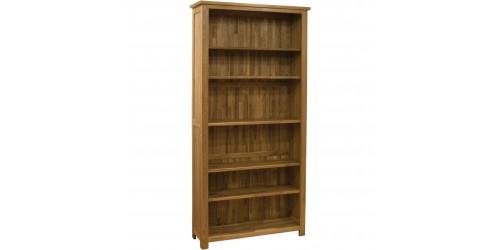 Sherwood Deluxe Tall Bookcase in Oak