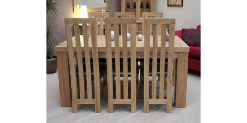 Thick Top Dining Table in Solid Oak 6ft x 3ft