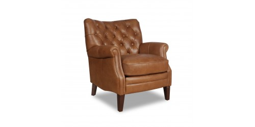 Cambridge Leather Wing Chair