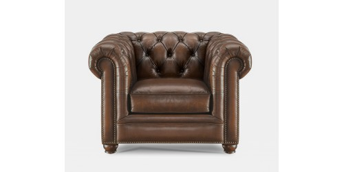Cambridge Leather Club Chair