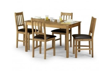 Lille Dining Set + 4 Chairs