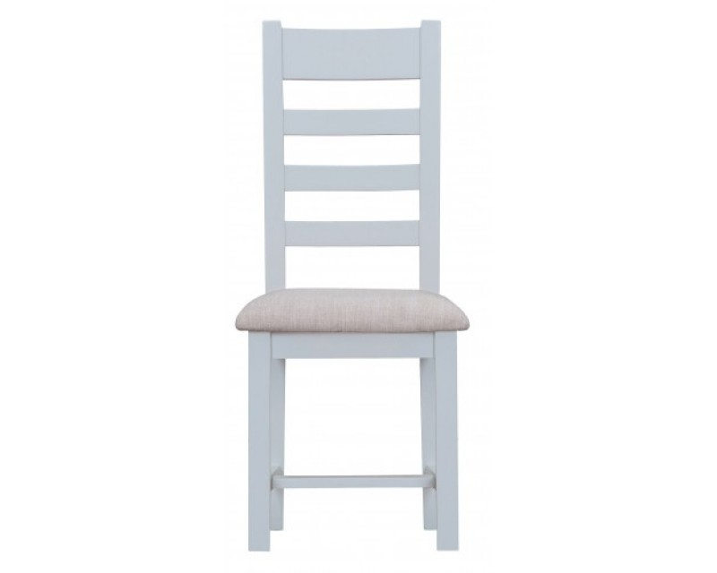 Trieste Ladder-Back Dining Chair with Padded Seat