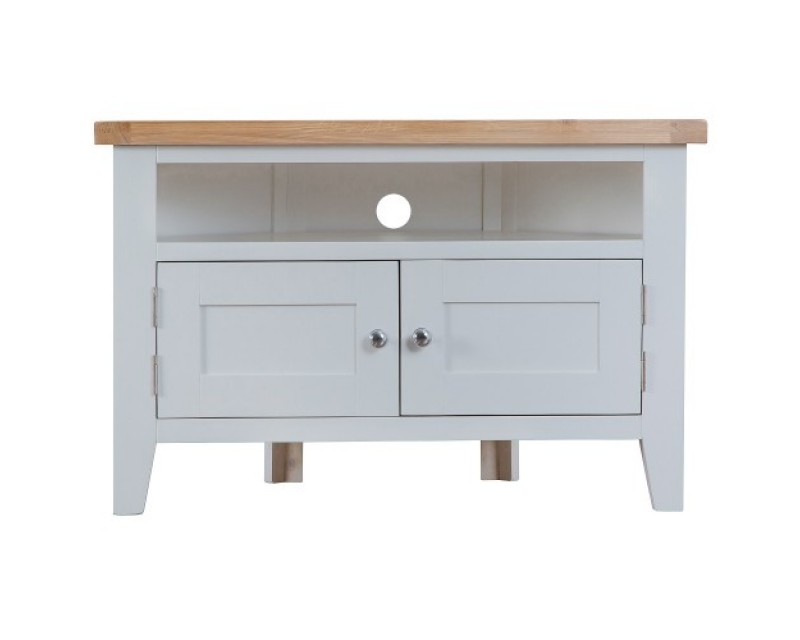 Trieste Painted Corner TV Unit