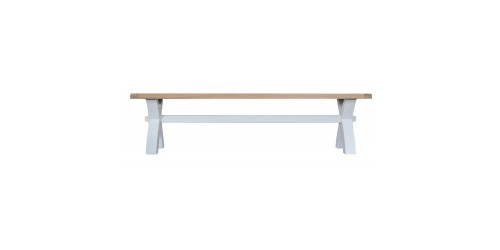 Trieste Painted Small Cross Bench