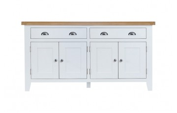 Trieste Painted 4 Door Sideboard