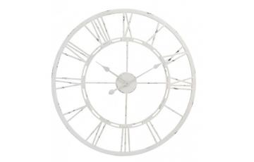 Antique Cream Skeleton Wall Clock