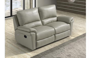 Douglas 2 Seater Italian Leather Sofa