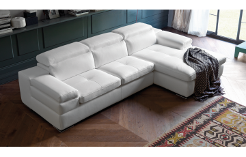 Miro 2 Seater Italian Leather Sofa