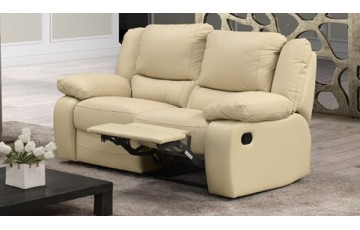 Virginia 2 Seater Italian Leather Sofa