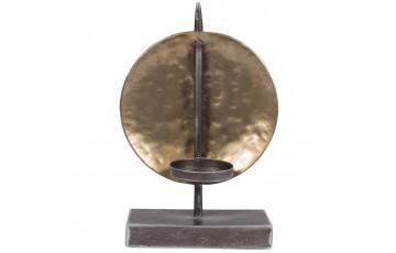 Antique Gold Global Candle Holder