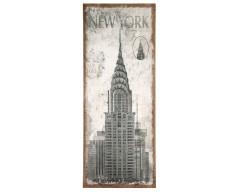 New York Design Oblong Wall Canvas