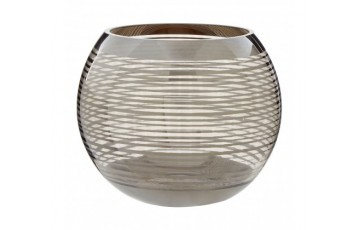 Large Rounded Glass Vase