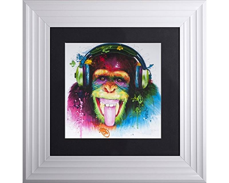 Patrice Murciano Monkey Picture 55cm x 55cm