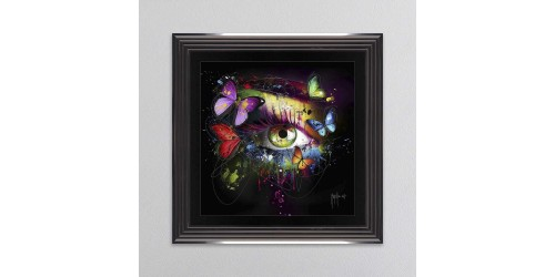 Butterfly Eye Framed Wall Art 85x85cm