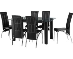Stacey Dining Set with 6 Chairs