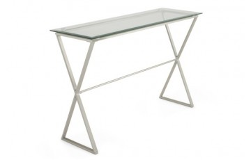 Kent Glass Console Table