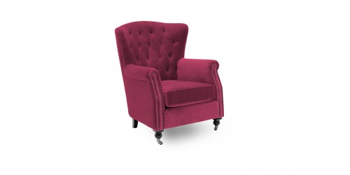 Dante Winged Back Accent Chair - 3 Colours Available