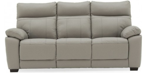 Paciano Leather 3 Seater Sofa